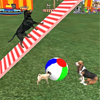 Puppies Games on Feature That Allows You To Steer Your Dog Using Your Keyboards Arrows